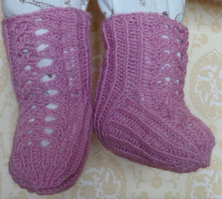 детские носки для новорожденных