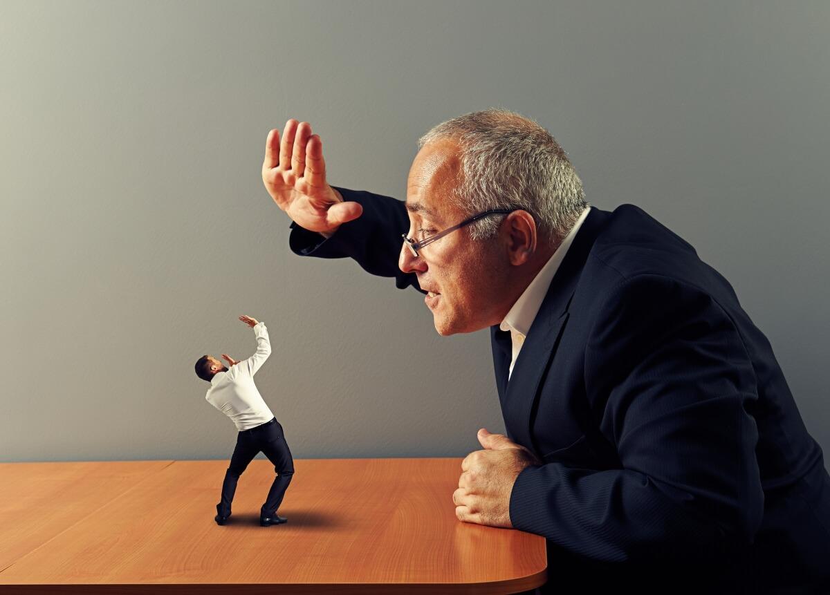 Картинка оскорбление человека