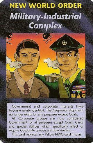 イルミナティカードの予言⑱軍産複合体編
