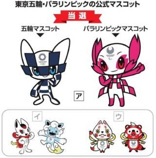 東京五輪 パラリンピックのマスコットがイルミナティ