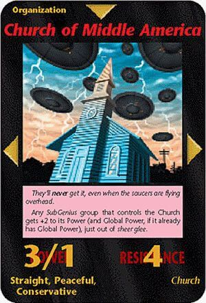 イルミナティカードの予言 Ver328 ミドルアメリカの教会編
