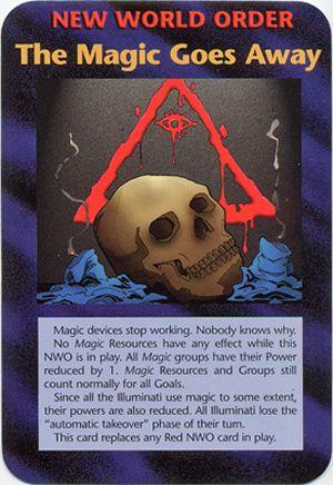 イルミナティカードの予言 Ver350 魔法の国が消えていく