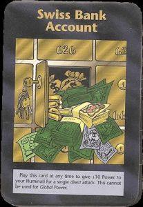 イルミナティカードの予言 Ver374 スイス銀行口座編