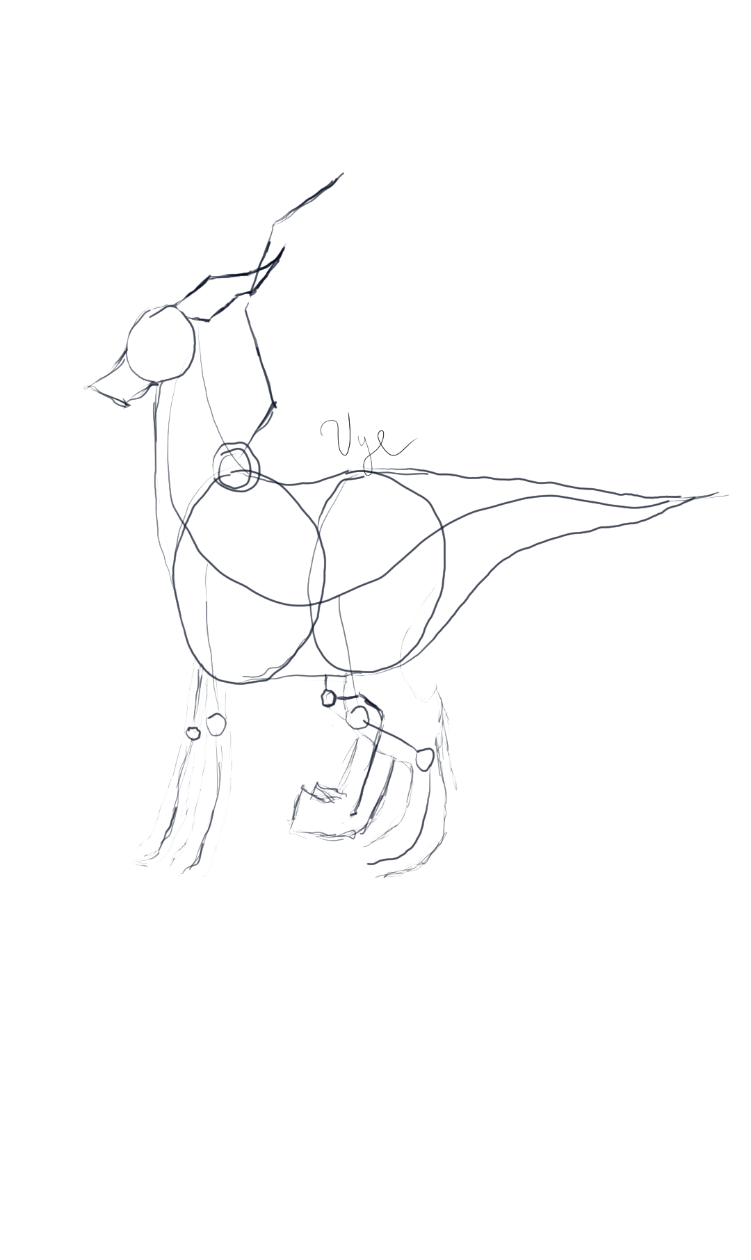 Basic Dragon Sketch 4