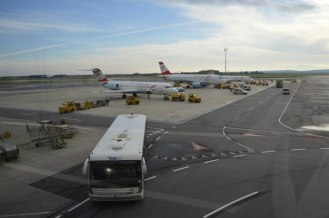 В ожидании рейса на Франкфурт