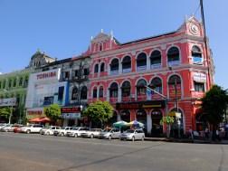A building in Yangon   © Vylyst