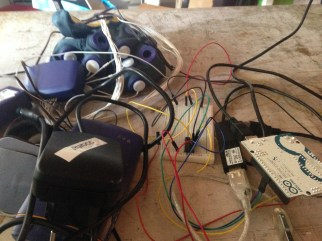 our prototype brain gear