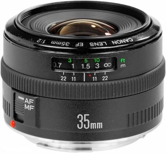 Le vieux Canon 35mm f/2