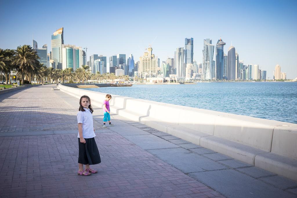 Sur la Corniche...