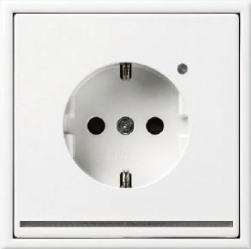 Zásuvka JUNG s LED podsvětlením