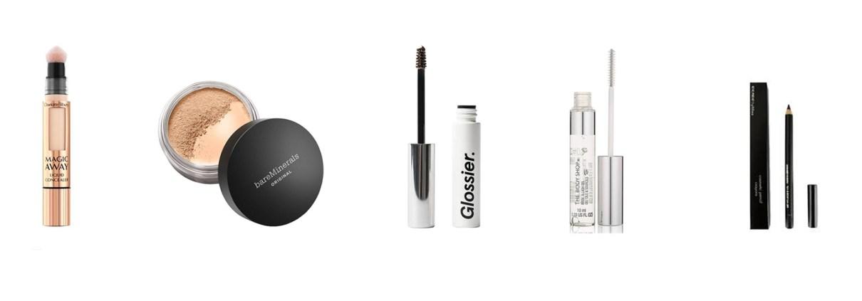 A range of make-up for men