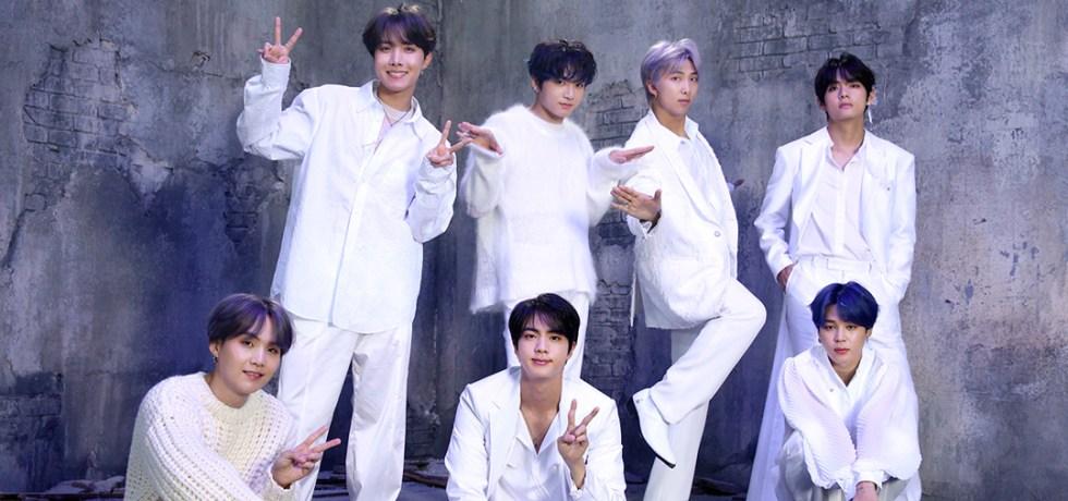 La boyband BTS