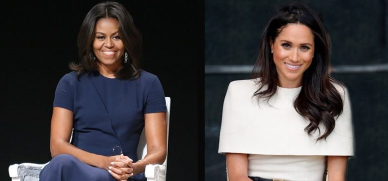 meghan markle y michelle obama