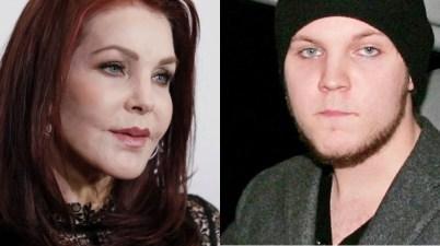 Priscilla Presley y Benjamin Keough