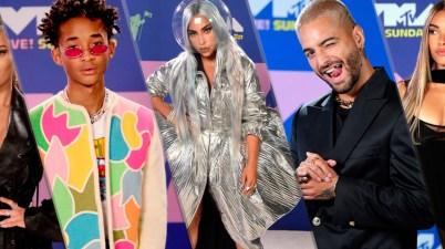 Looks que encantaron en la alfombra roja en los MTV VMAs 2020