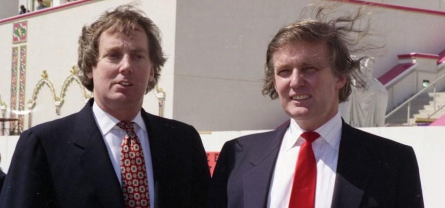 Trump y su hermano