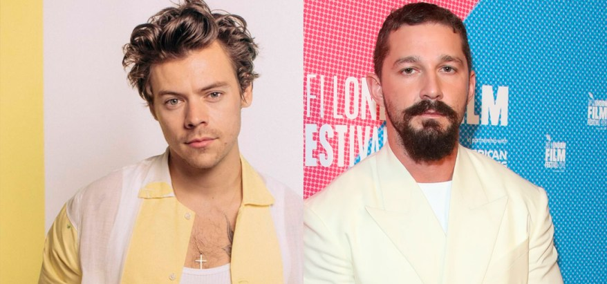 Harry Styles y Shia LaBeouf