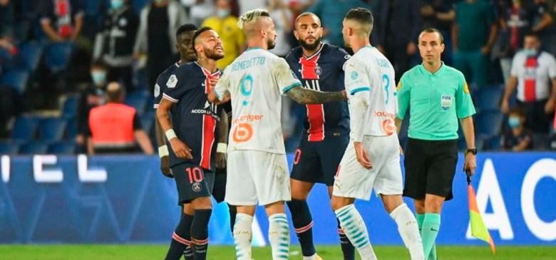 La pelea entre Neymar, Di María y Álvaro González