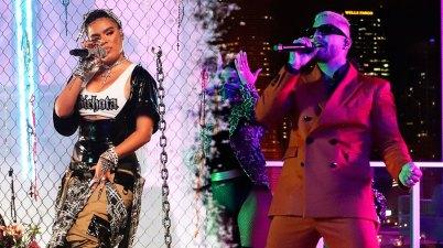 Maluma y Karol G en los MTV EMAs 2020