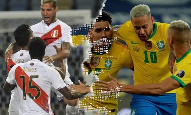 Perú y Brasil, previa en datos de la Copa América 2021