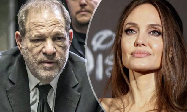 Harvey Weinstein y Angelina Jolie