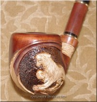 Unique Ukrainian Tobacco Smoking Pipe