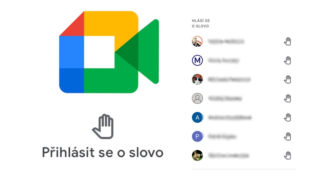 Hlásíme se v Google Meet.