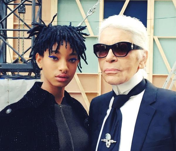 15-летняя дочка Уилла Смит стала лицом Chanel