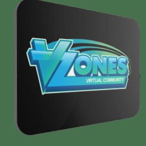 VZones Official Mouse Mat – Black