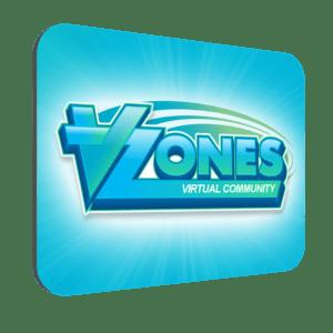 VZones Official Mouse Mat – Blue