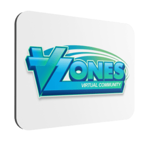 VZones Official Mouse Mat – White
