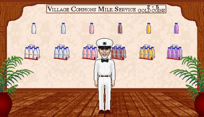 In World Milk Delivery???