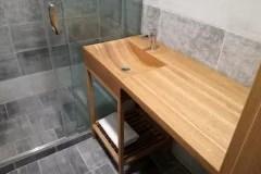 Dřevěné umyvadlo z masivu