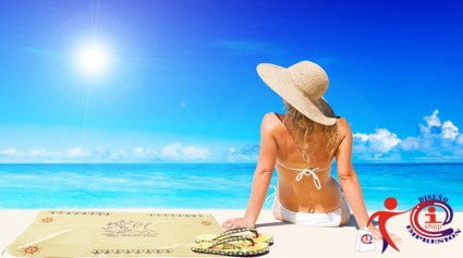 Y para ir a la playa te debes preparar.