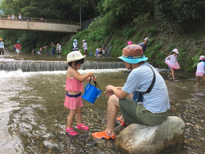 sIMG 0139 - 夏休みの始まりは、川遊びから。
