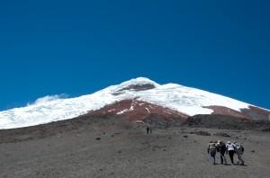 Cotopaxi Parkplatz auf 4600 m