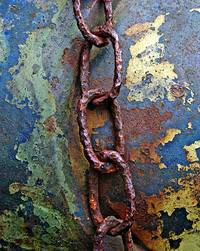 The chains that bind us, the links that entwine us, the corrupted love of the information age