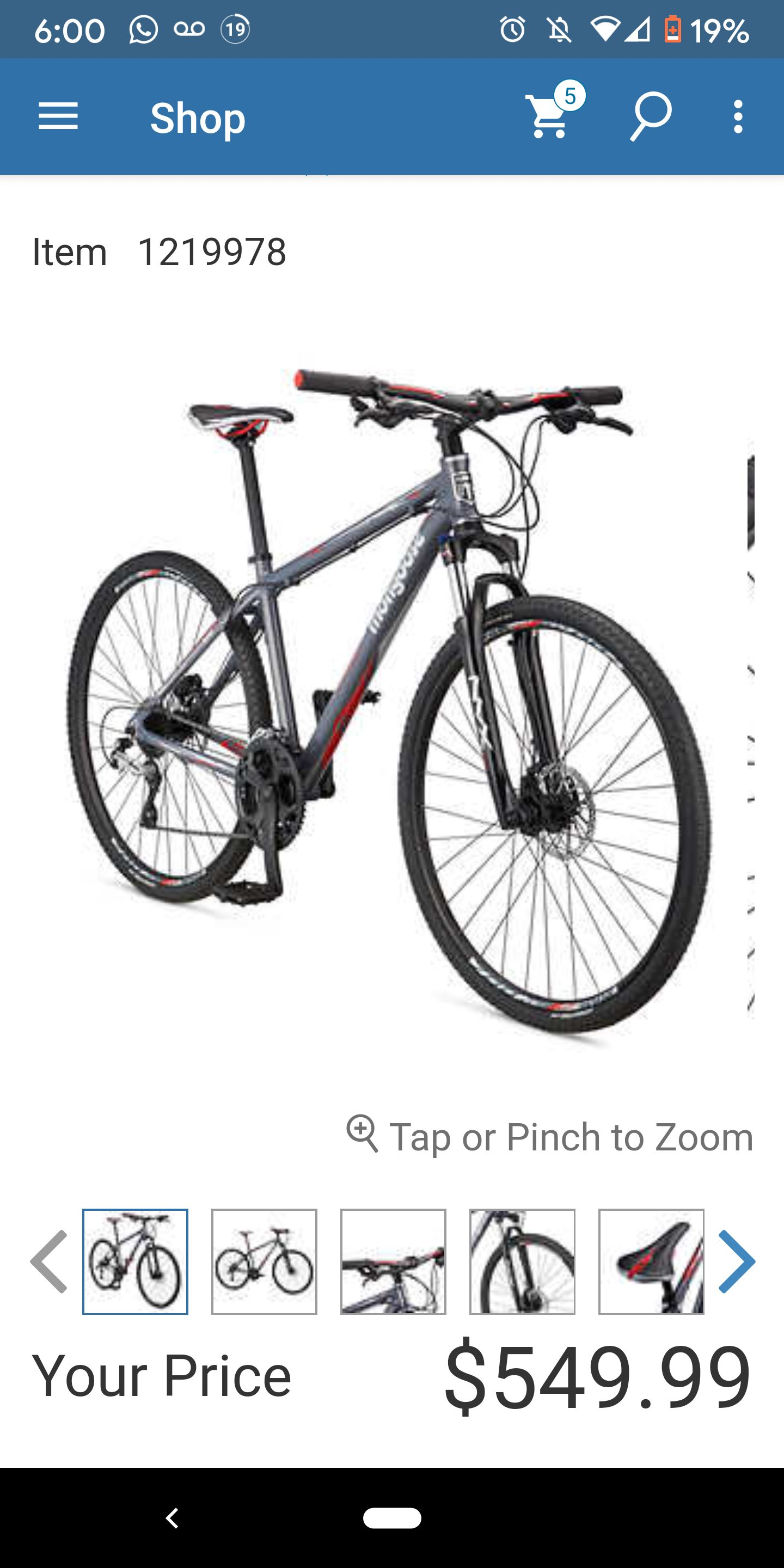 Costco Mountain Bike : costco, mountain, Costco], Costco.ca:, Mongoose, Adult, Reform, Sport, Hybrid, Bicycle, 9.99, RedFlagDeals.com, Forums