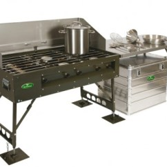 Portable Kitchen Marble Top Cart Field Catering Gas Lpg Cooking Equipment Cf85 Hawkmoor Military Defence