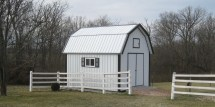 Gambrel Roof Barn Shed Plans 12 X 16