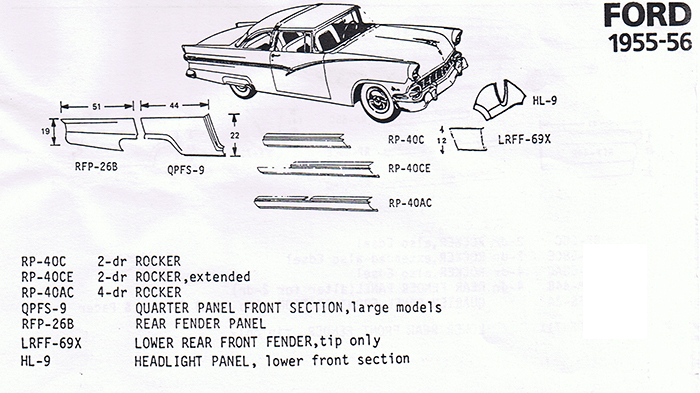 Ford 1955-56