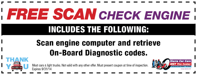 FREE Check Engine Scan