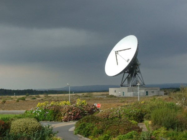 Satellite Earth Station Dish