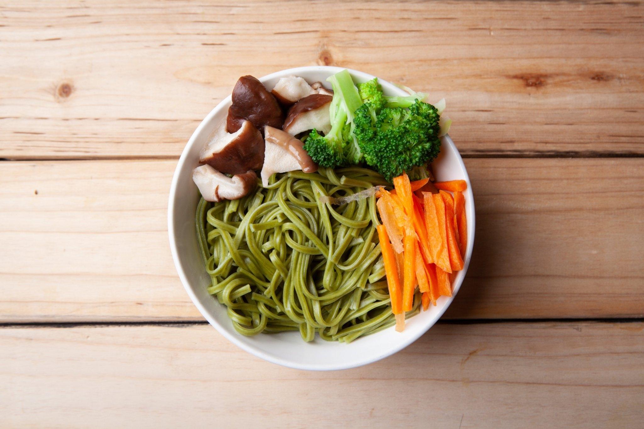 香菜先生香菜拌麵-椒麻-全素 - 樂膳自然無毒蔬食超市