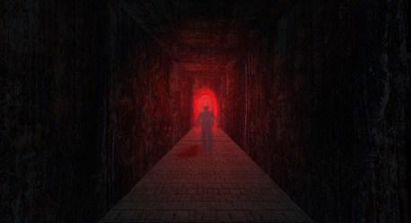 Dark Door Death Light Red Black Ghost Wallpaper Resolution:1980x1080 ID:286374 wallha com