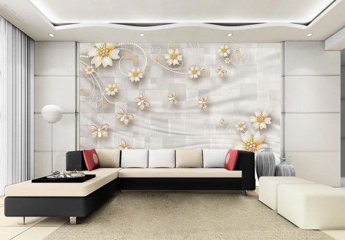 Living Room Wallpaper B Q Living Room Room Interior Design Furniture Wall Wallpaper Property Couch Ceiling Architecture 1239936 Wallpaperkiss