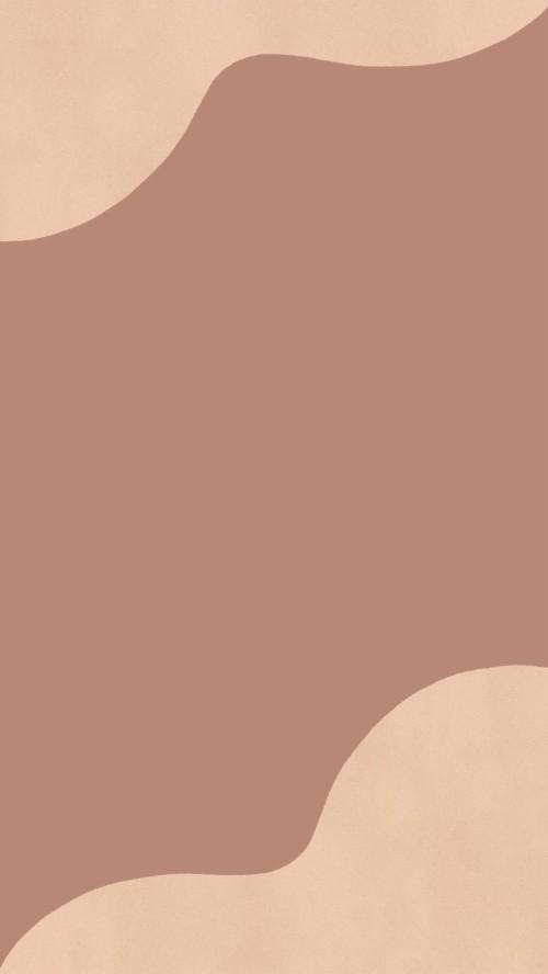 plans mignons marron beige illustration