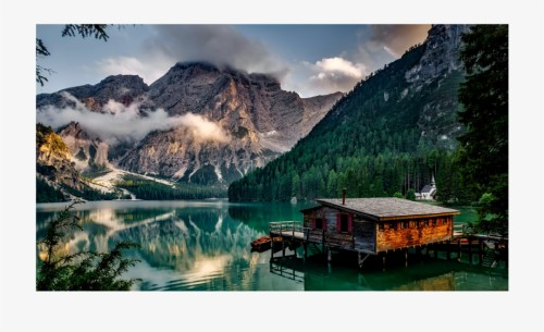 nature montagne lac station