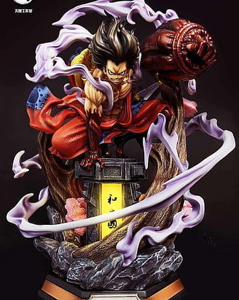 By using a combination of haki and gear second, luffy is able to punch opponents at with such speed and force that it causes his fist to ignite into a shroud of. Luffy Gear 4 Bounce Man Boundman Gear Gear 4 Luffy Monkey Monkey D Luffy Hd Mobile Wallpaper Peakpx