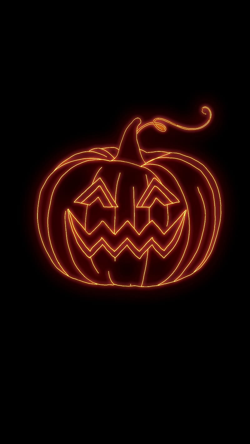 Browse 1,673 dark halloween background stock photos and images available, or start a new search to explore more stock photos and images. Scary Neon Pumpkin 31 October Amoled Autumn Black Dark Halloween Hd Mobile Wallpaper Peakpx